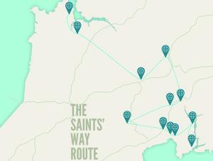 Saints' Way Route