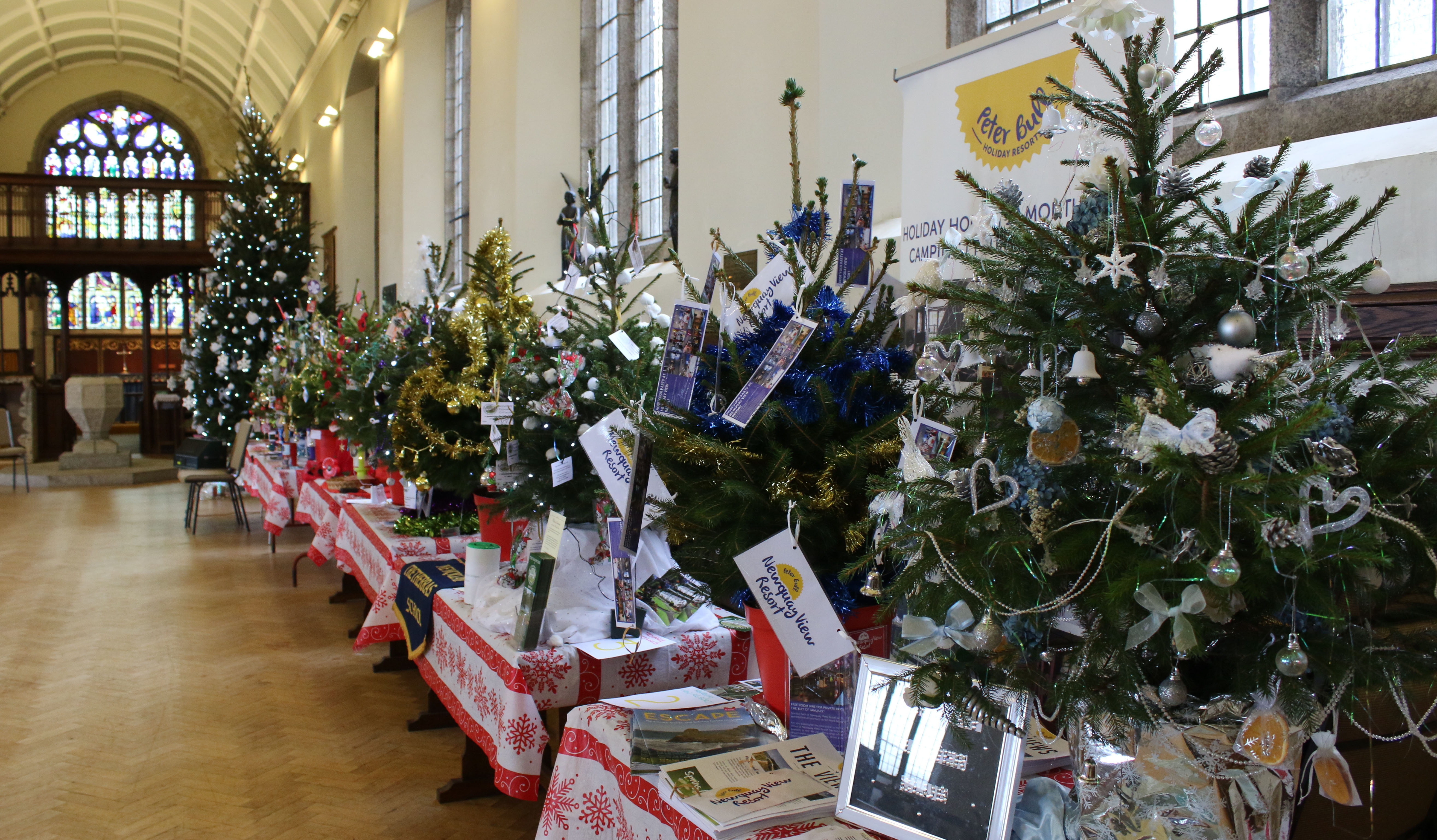 First Christmas Tree Festival Lights Up St Michael's