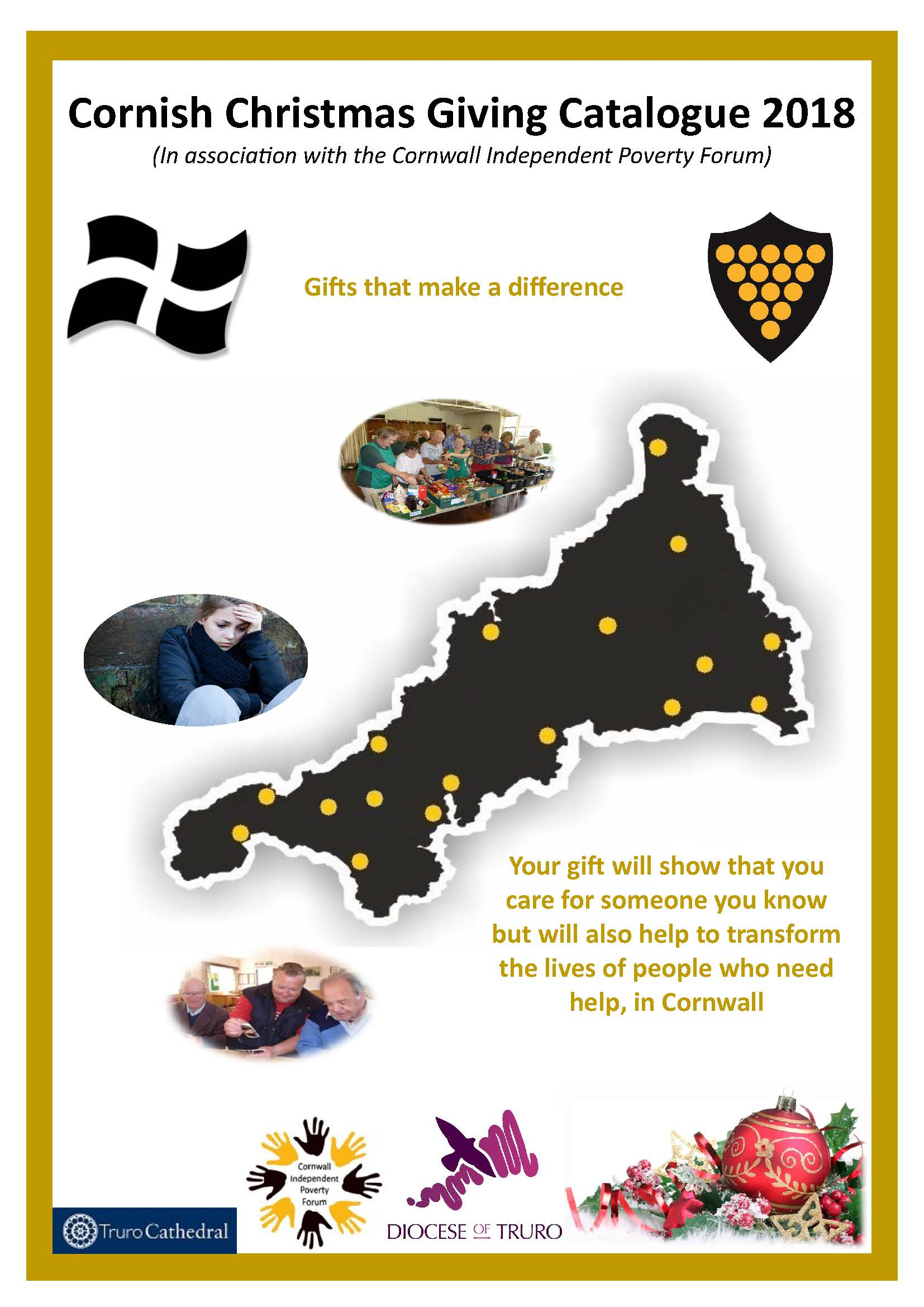 Give a gift this Christmas and support local charities - Truro Diocese : Truro Diocese