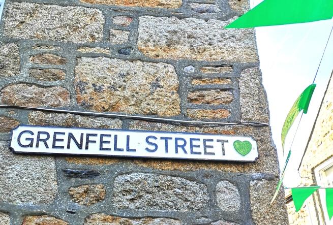 Grenfell Street Sign