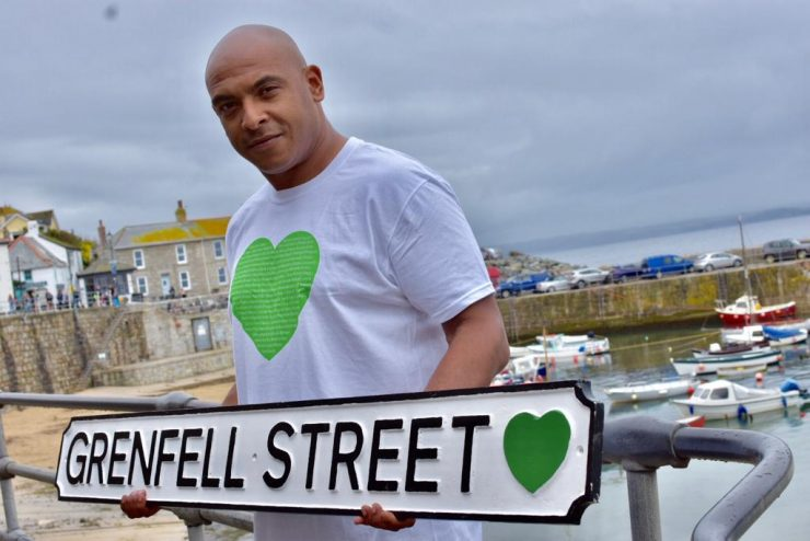 Karim Mussihy of Grenfell United
