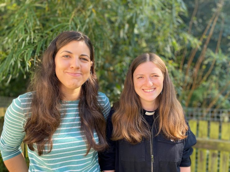 ordinands Claire and Rose Jones