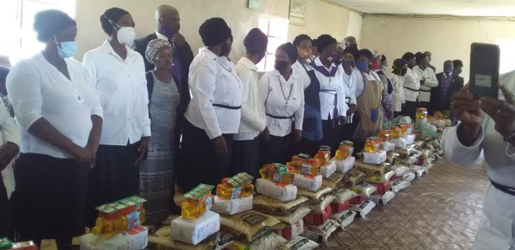 Food parcels for Mzimvubu